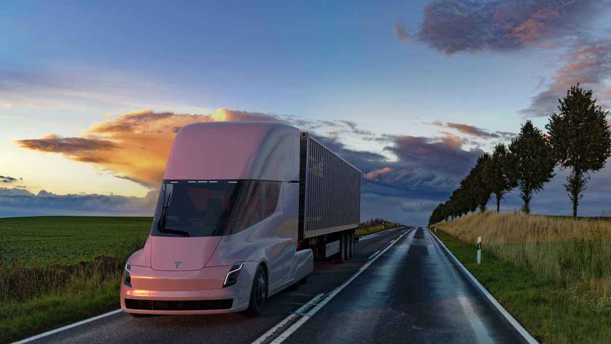 автомобили Tesla Semi