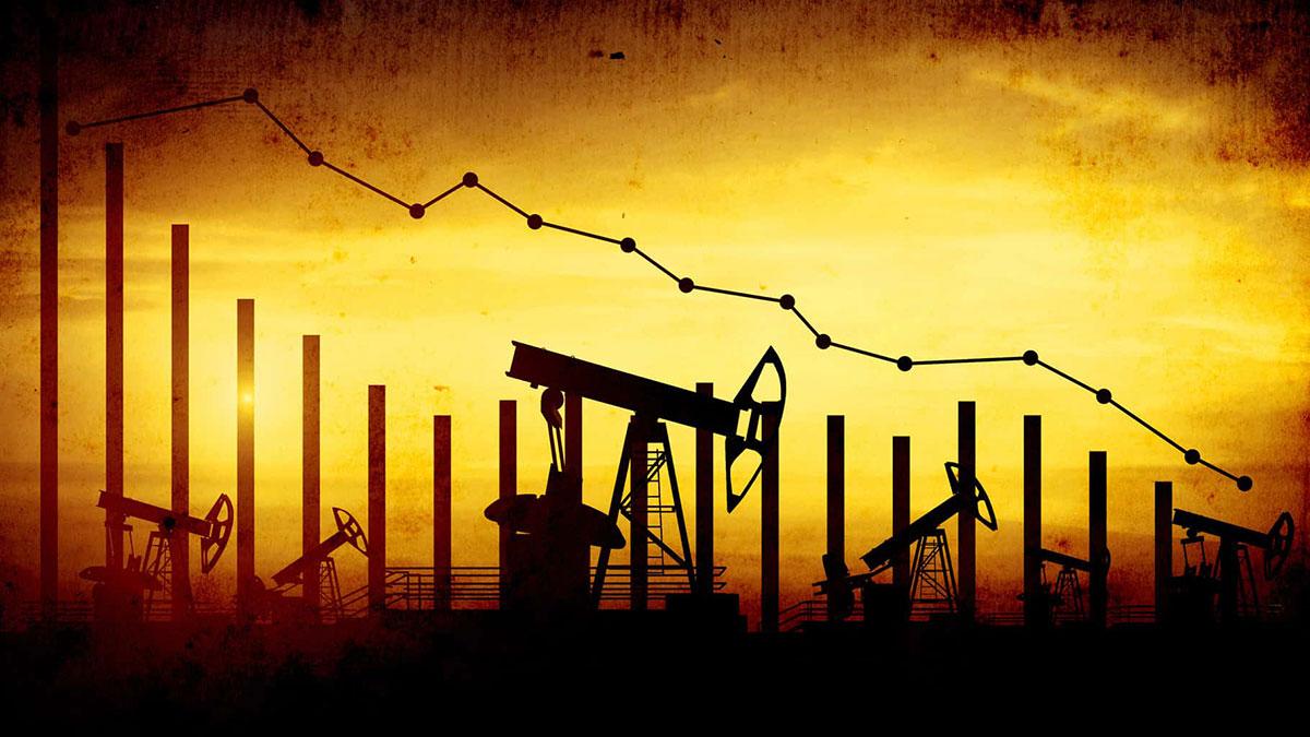 цены на нефть падение вниз