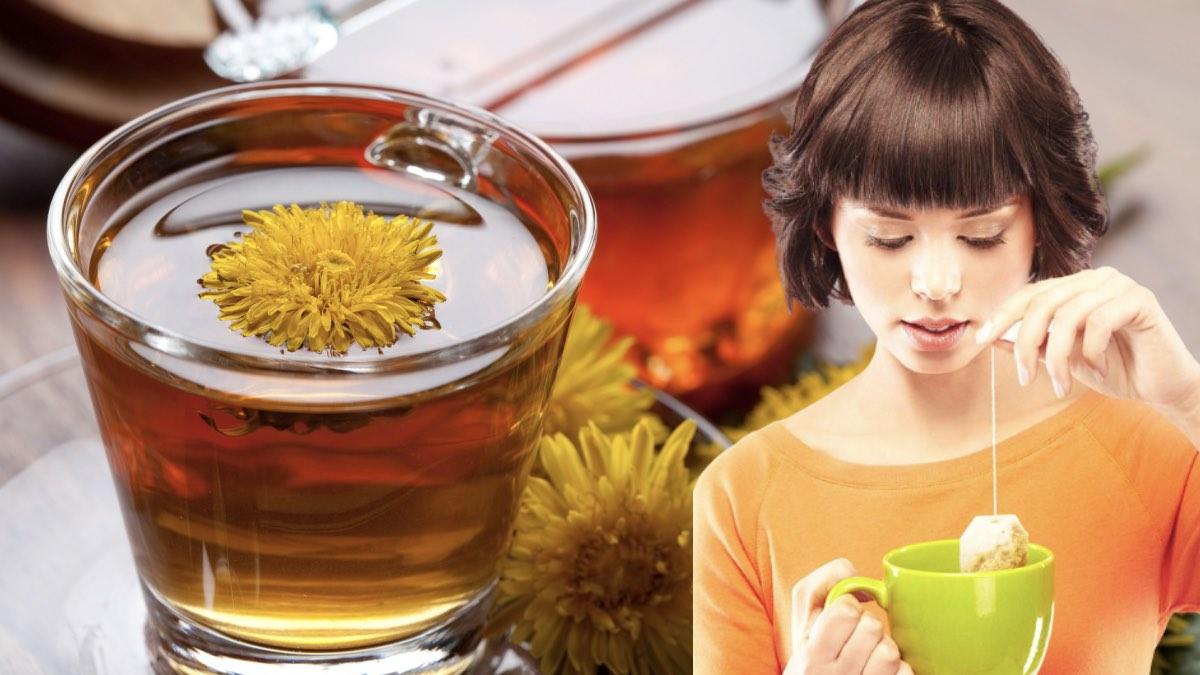 чай для детоксикации