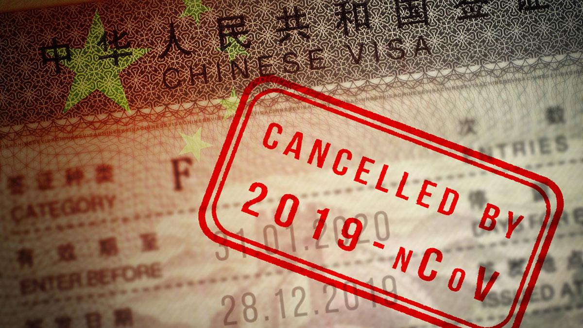 китайская виза коронавирус
