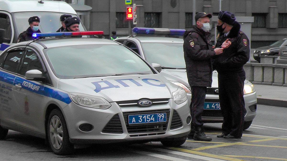 дтп дпс авария полиция москва сотрудники