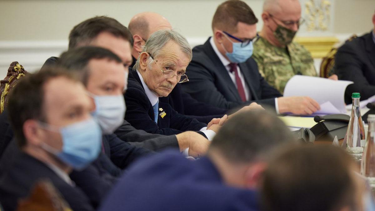 Совет национальной безопасности и обороны Украины заседание 2021