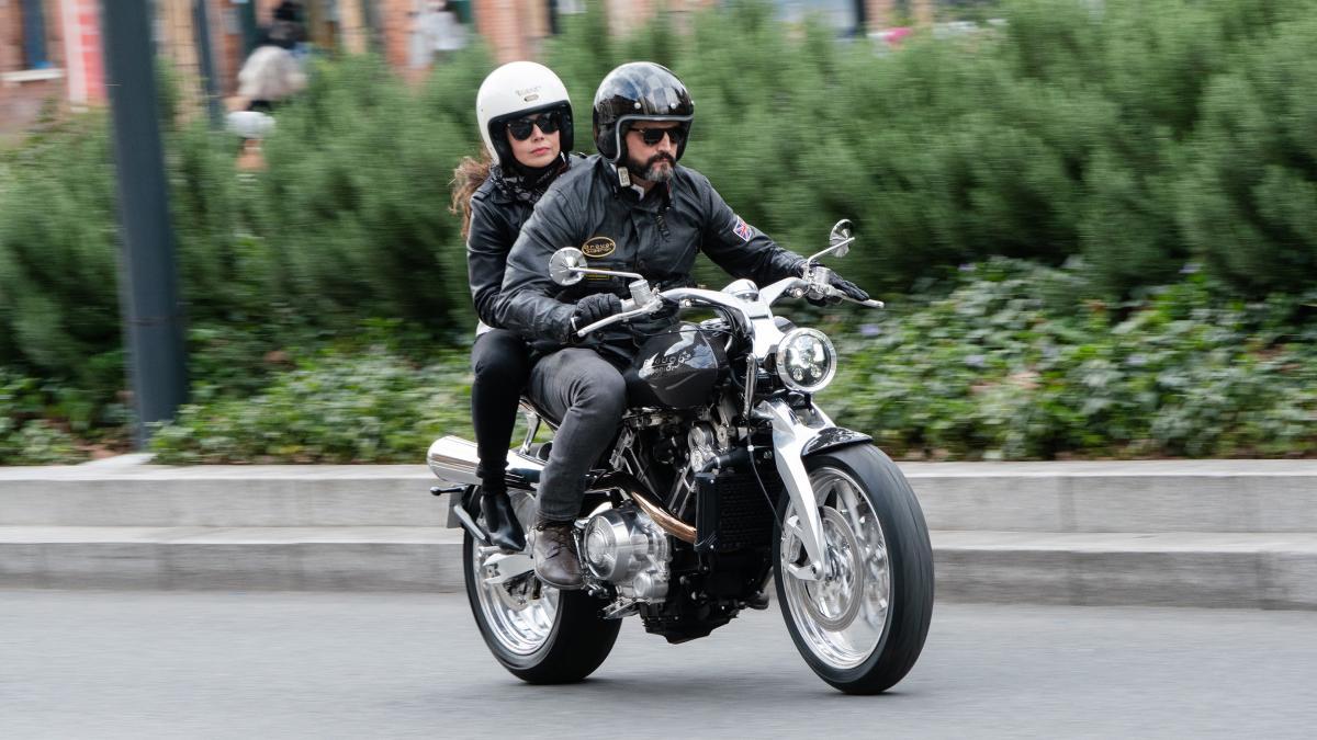 Brough Superior Lawrence мотоцикл