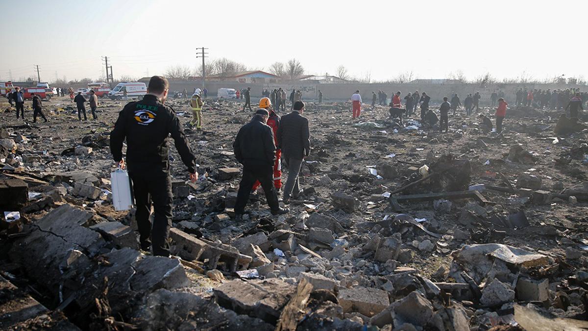 катастрофа украинского пассажирского самолета Boeing 737 в Тегеране