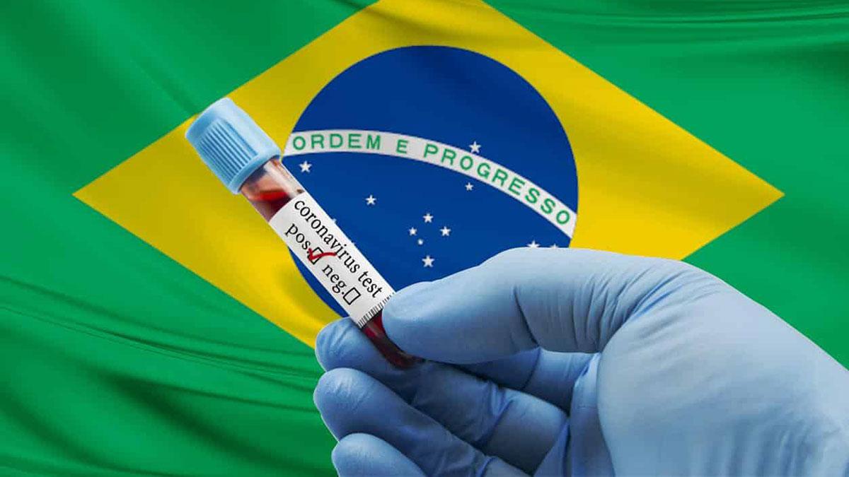 коронавирус бразилия положительный тест штамм