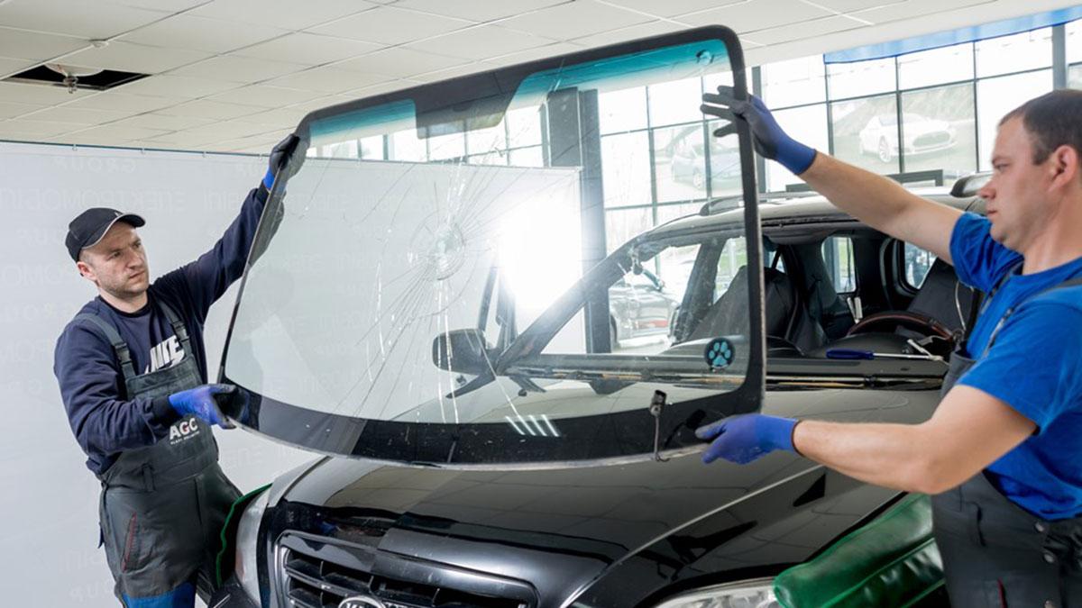 замена лобового стекла автосервис ремонт автомобилей