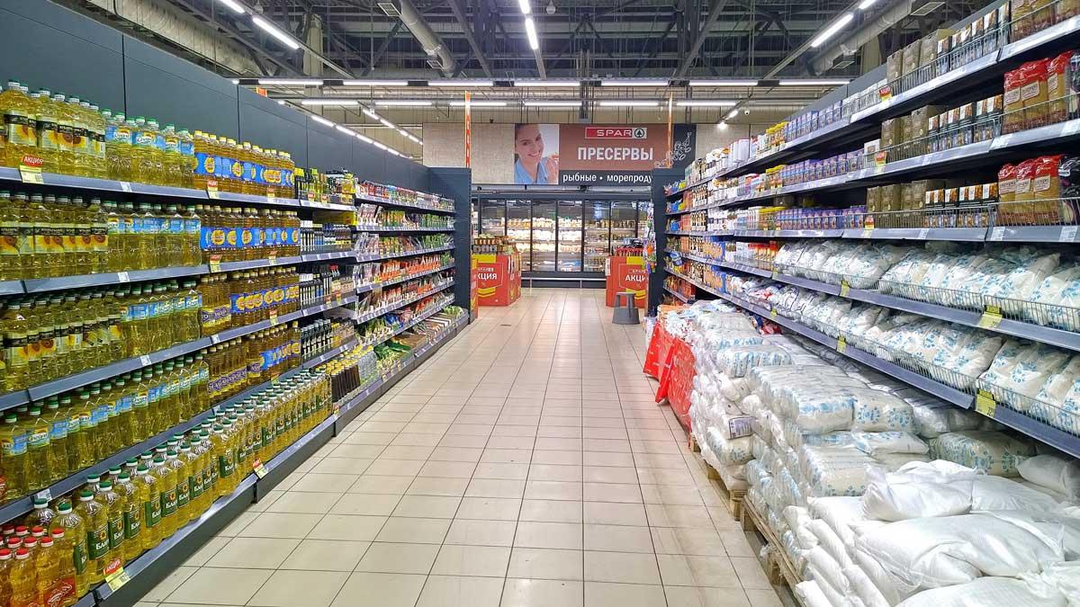 магазин продукты сахар подсолнечное масло