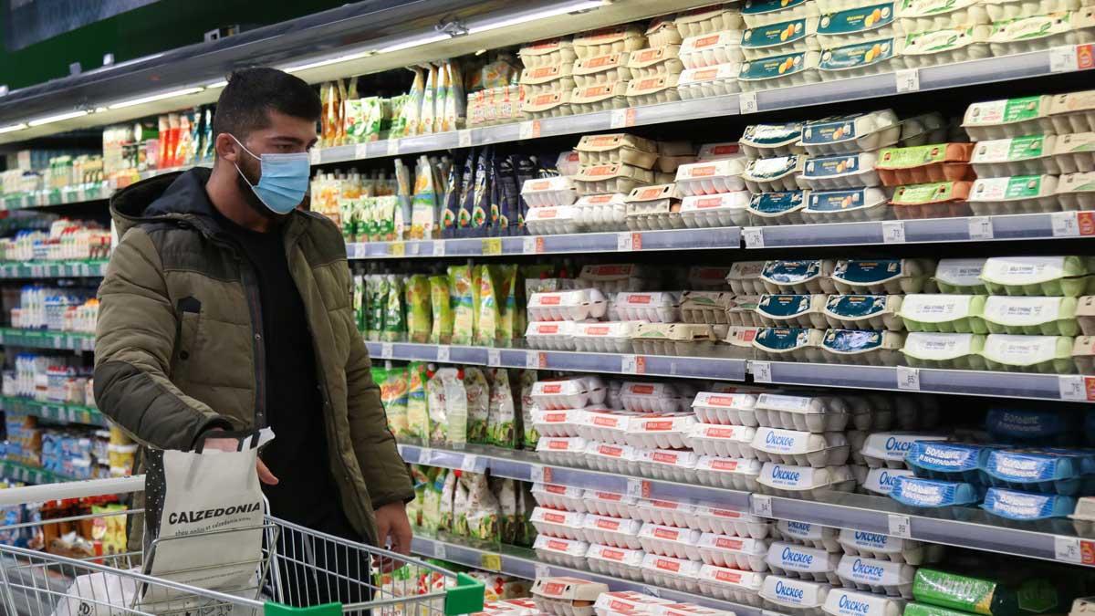 мужчина магазин продукты цены