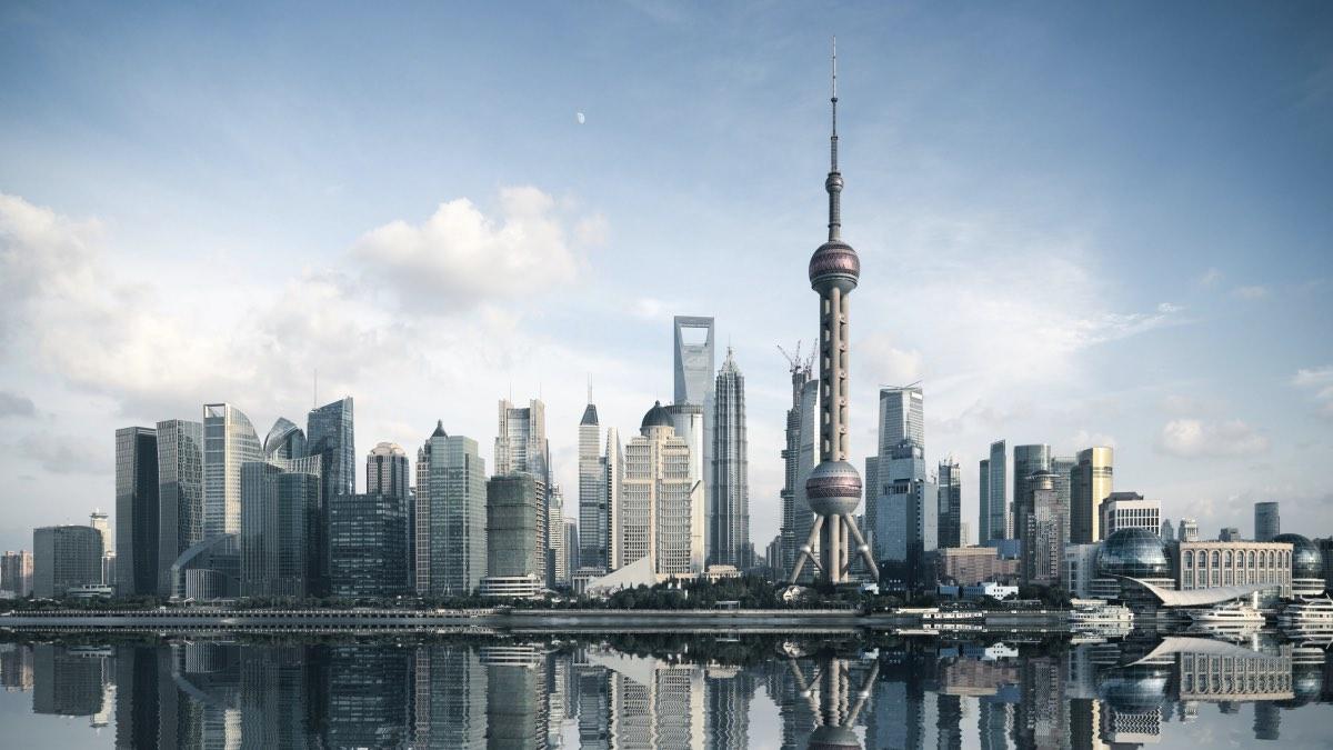 небоскребы шанхай