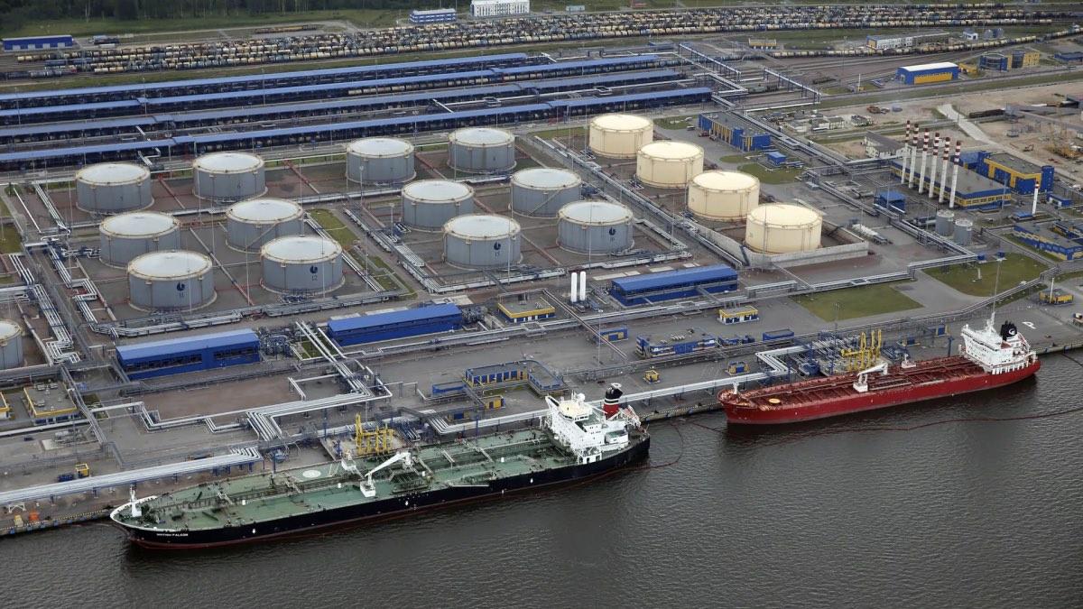 нефтяной терминал Усть-Луга