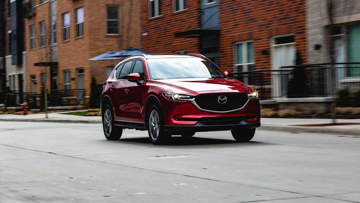 новая Mazda CX-5 2021