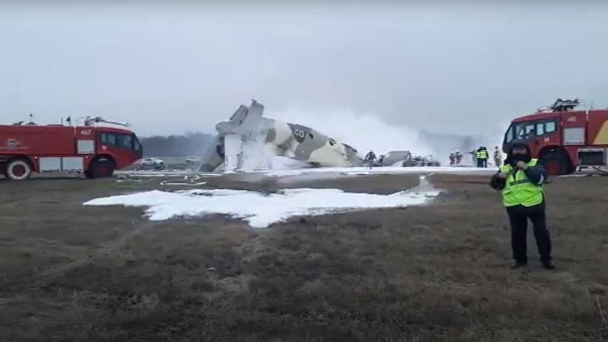 падение самолета Ан-36 Алма-Аты