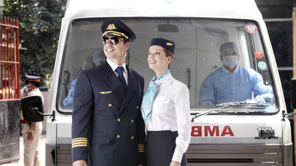 пилот и стюардесса скорая помощь