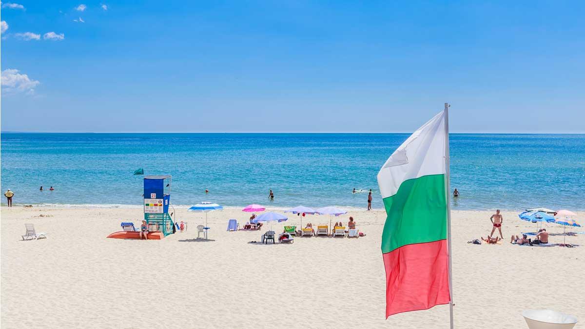 пляж Болгария