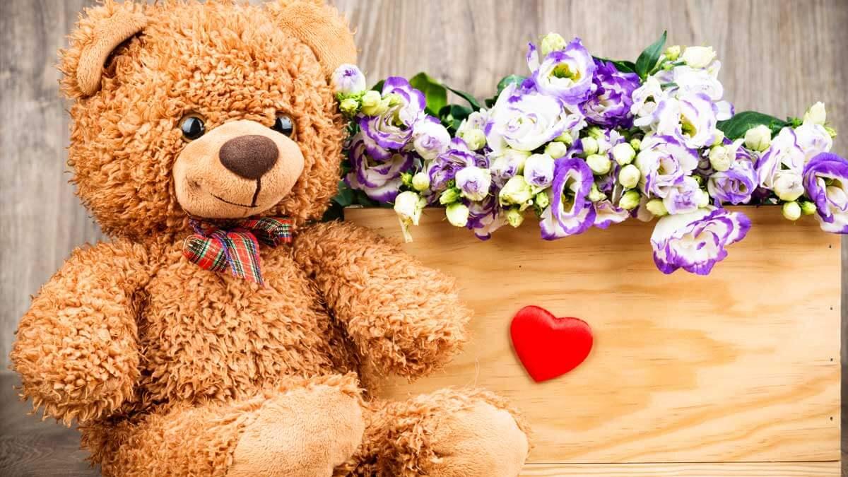 подарки мягкие игрушки цветы