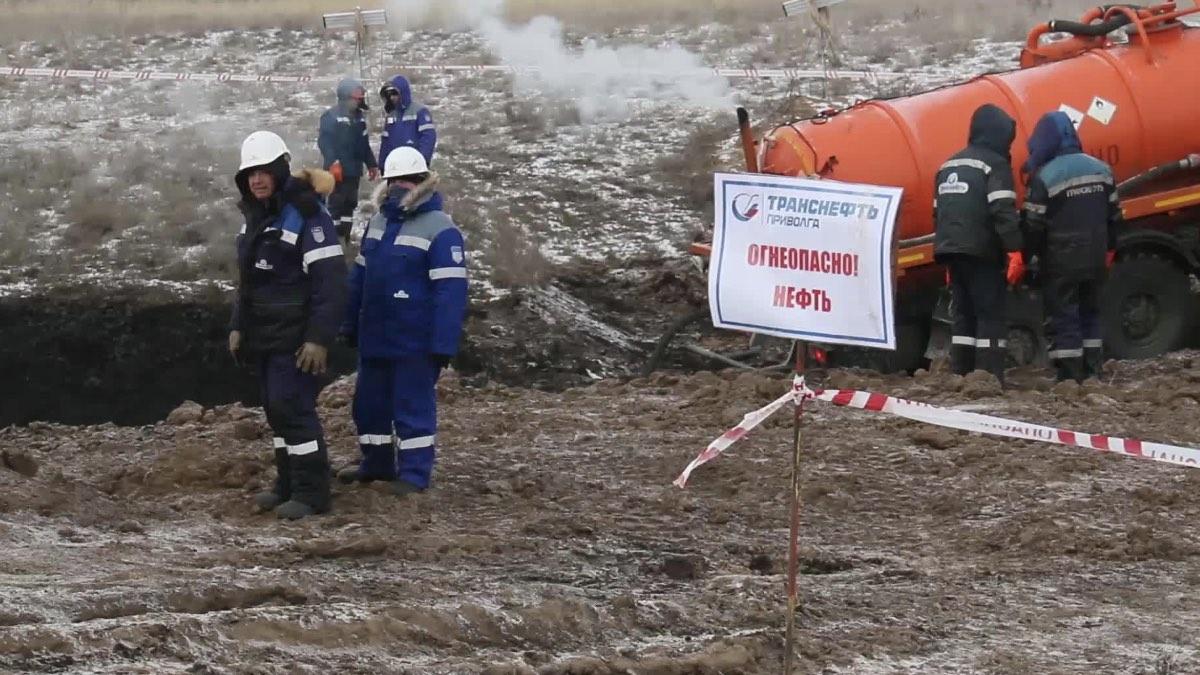 разлив нефти саратов