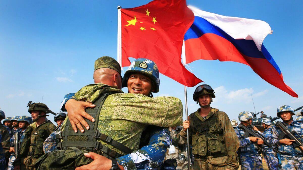 российско-китайские военные учения