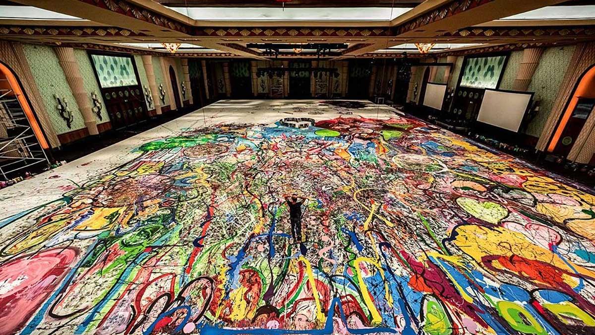 самая большая картина в мире
