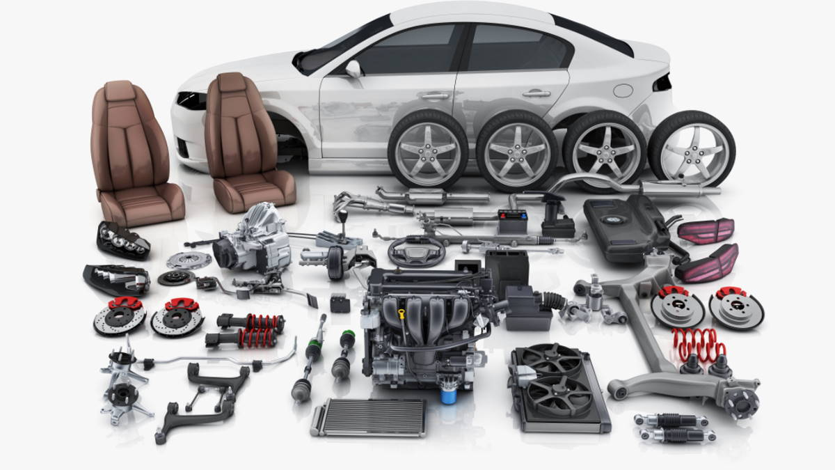 запасные части для автомобиля