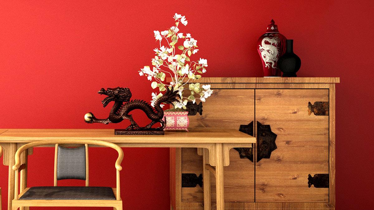 интерьер в китайском стиле предметы