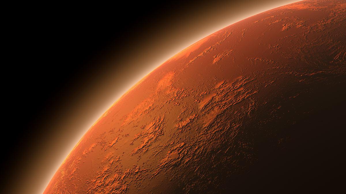 Марс планета магнитосфера поверхность