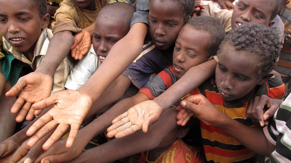 голод в африканских странах дети бедность