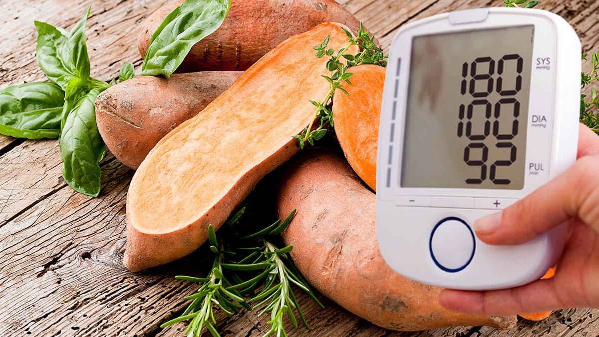 сладкий картофель и повышенное давление гипертония