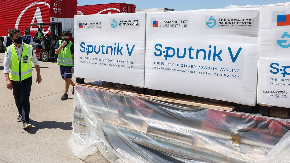спутник v sputnik v российская вакцина коробки поставки