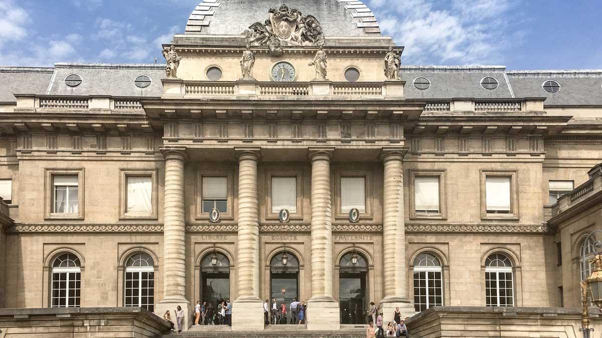 Дворец правосудия Франция