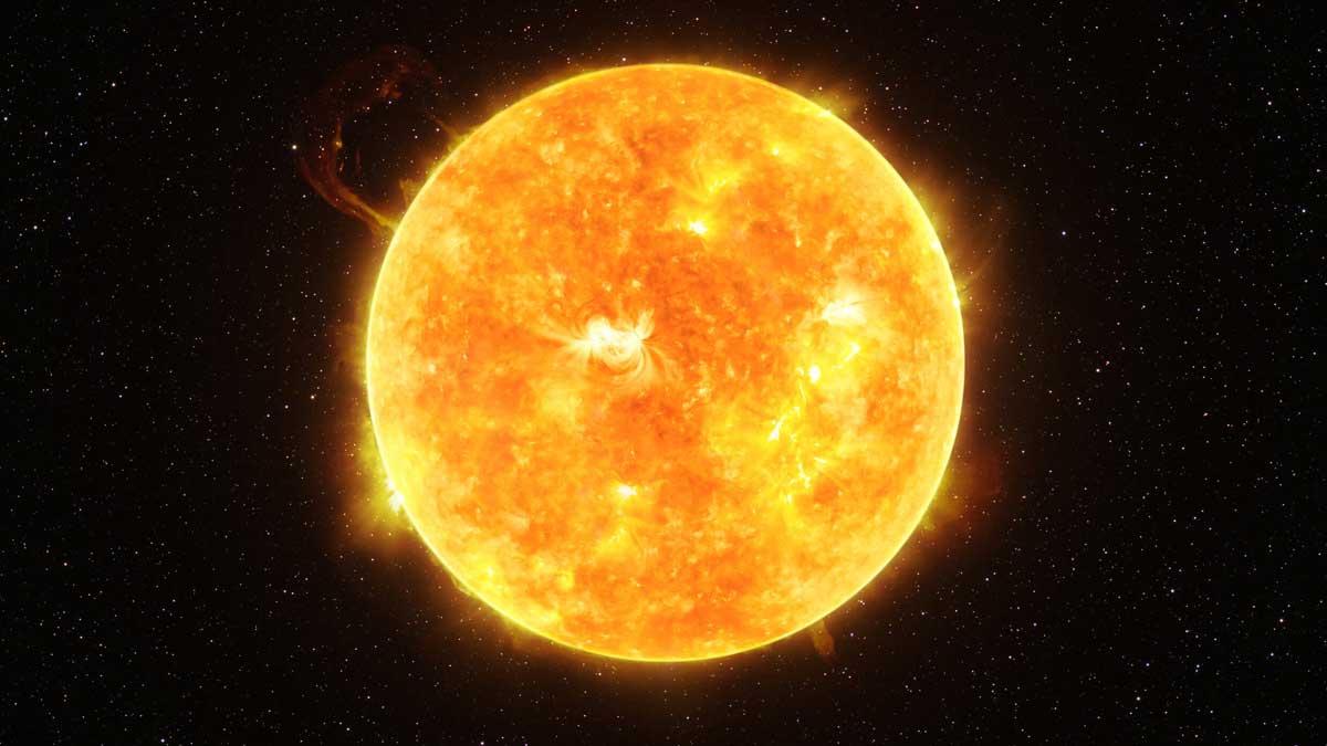 Солнце вспышка