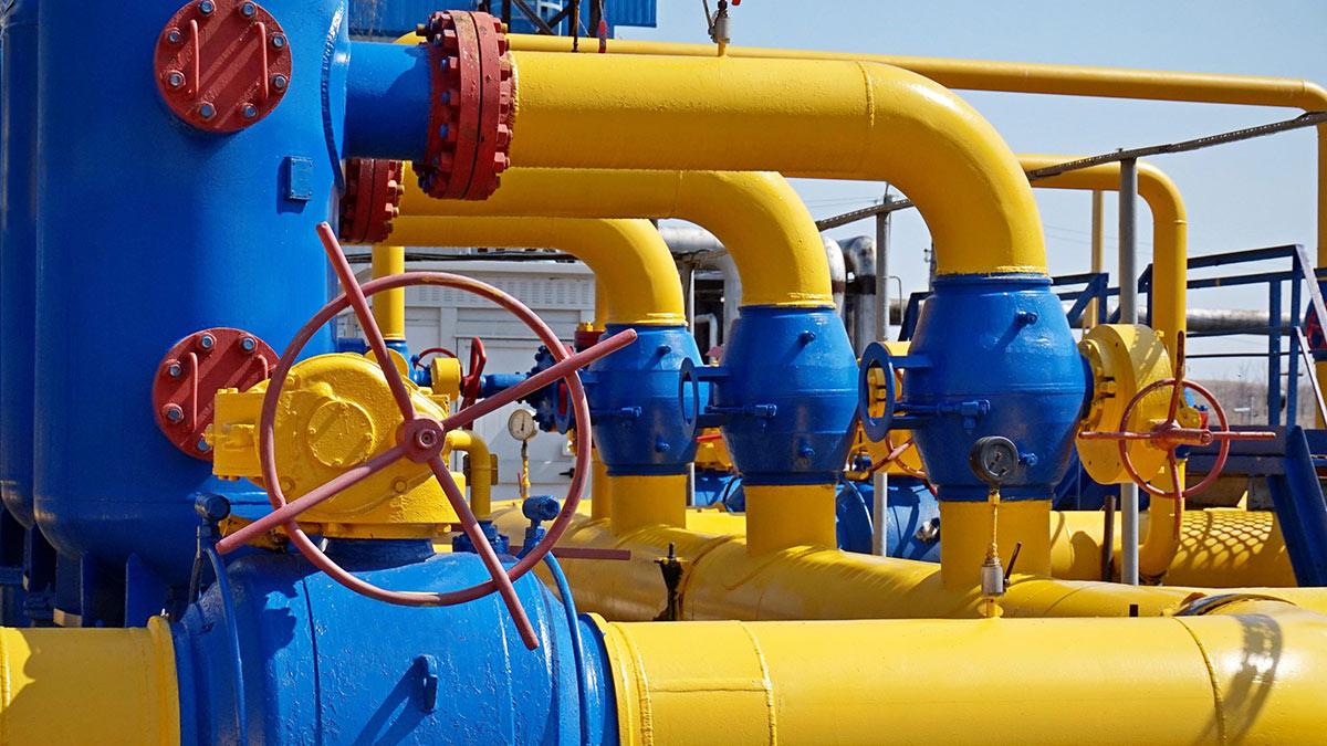 украина газ трубы газификация вентиль