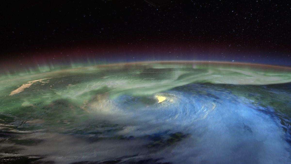ураган на северном полюсе