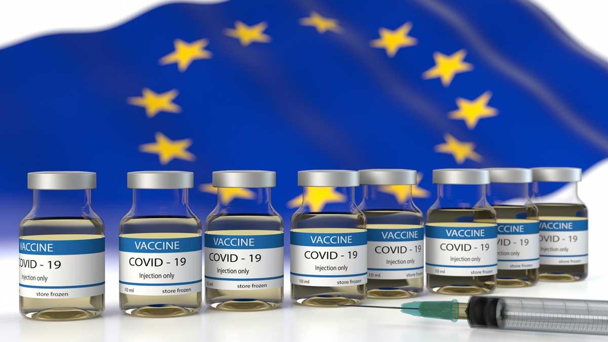 вакцина флаг Евросоюза
