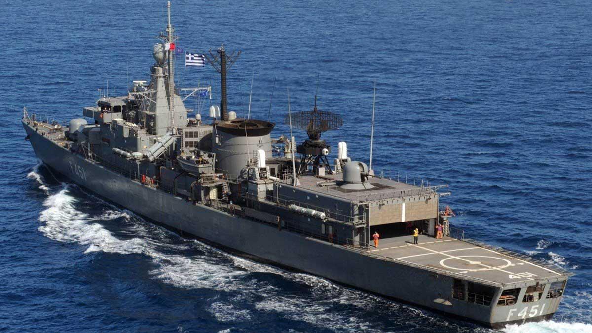 военно-морские силы Греция корабль