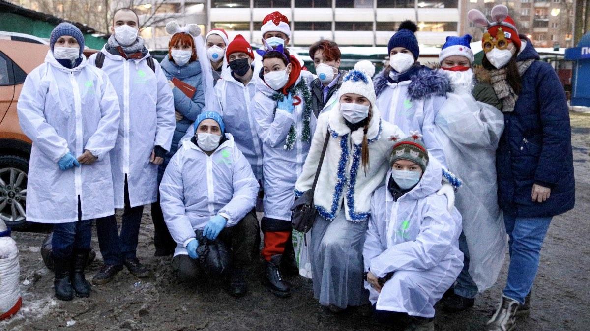 волонтеры москвы
