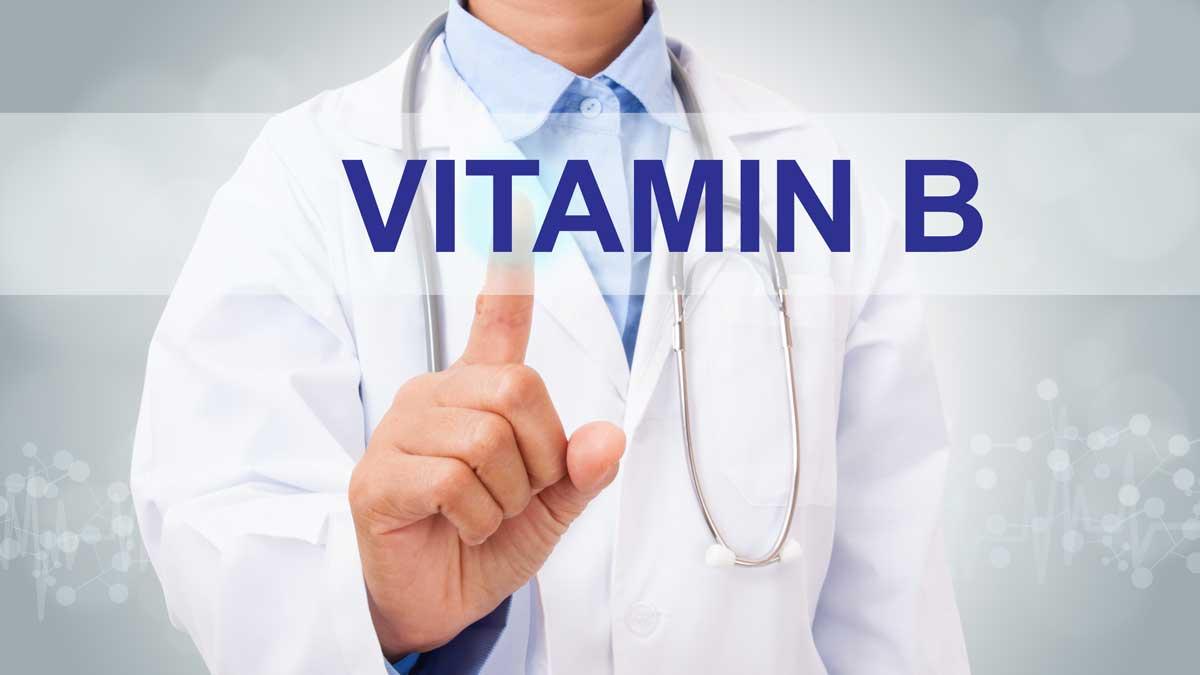 врач доктор витамин B палец
