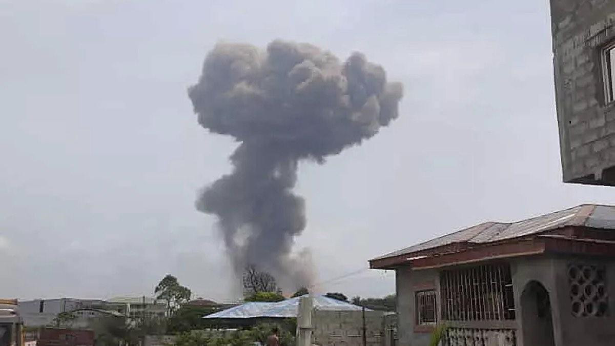 взрыв в экваториальной гвинее