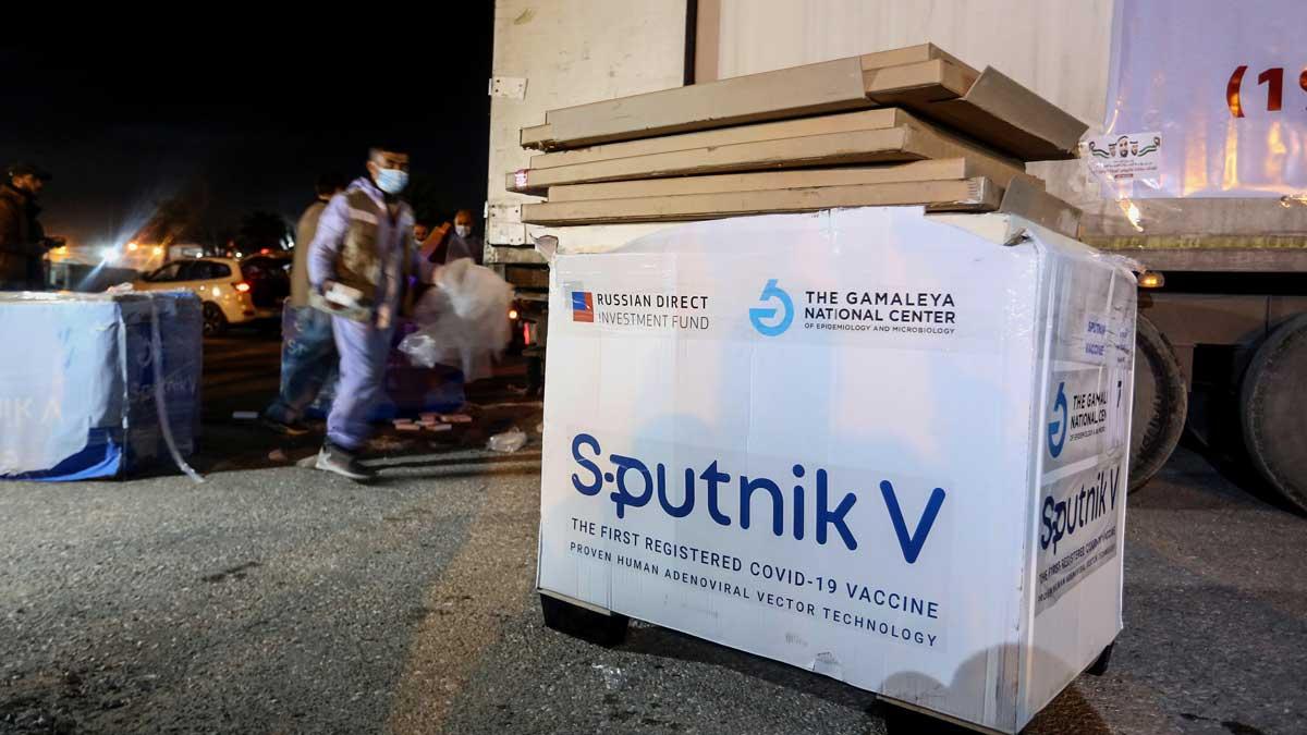 ящик вакцина Спутник V Sputnik V