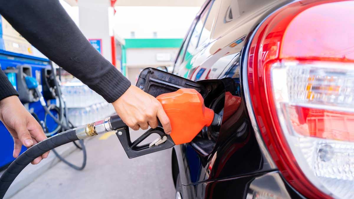 заправка бензин автомобиль шланг