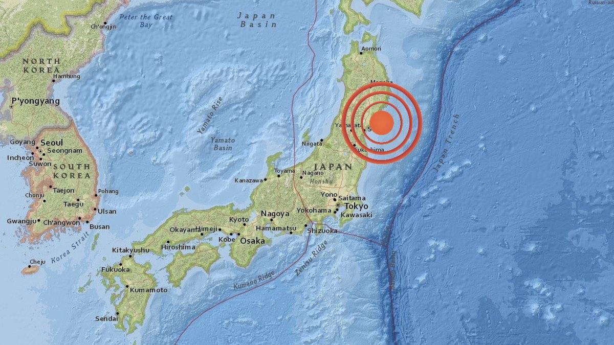 В Японии после землетрясения магнитудой 7,2 объявили угрозу цунами