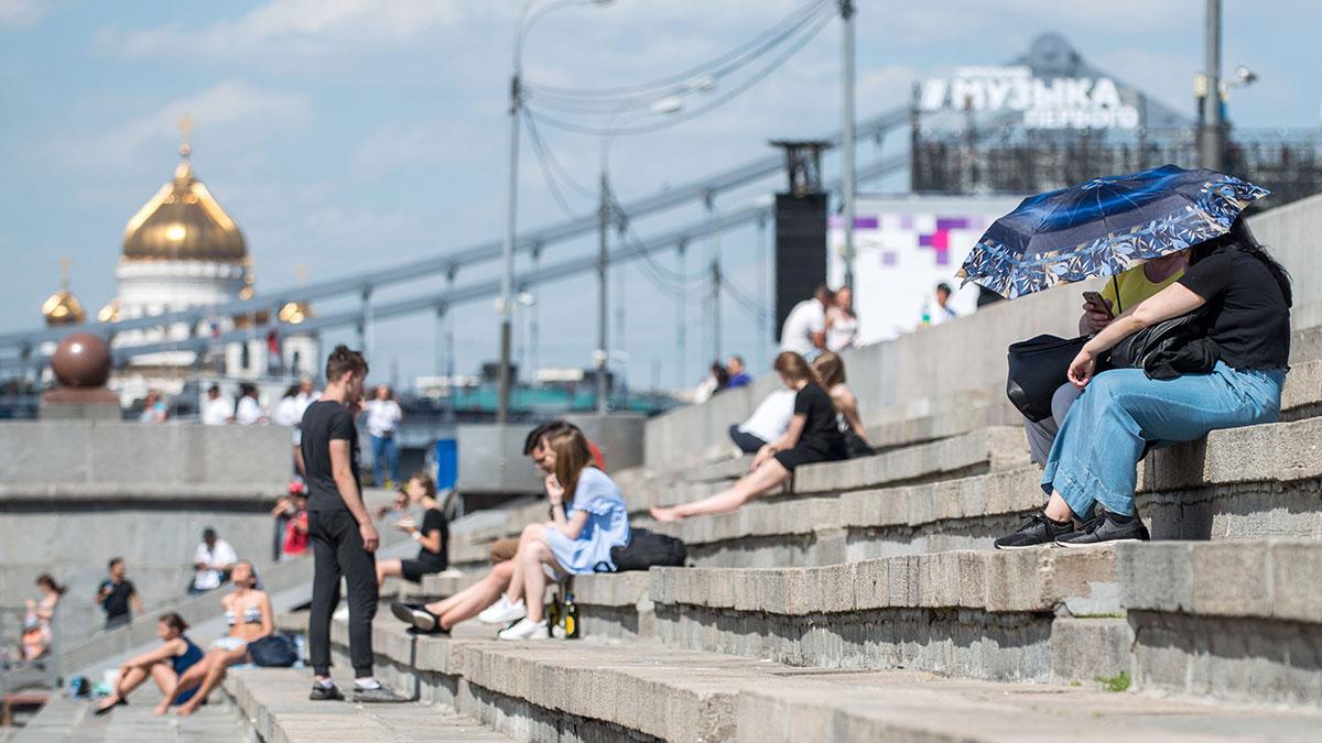 Когда в Москве станет тепло, рассказала метеоролог