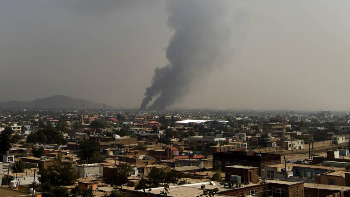 Афганистан взрыв