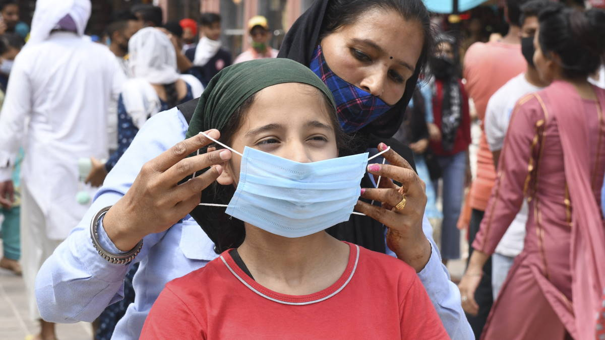 Индия коронавирус
