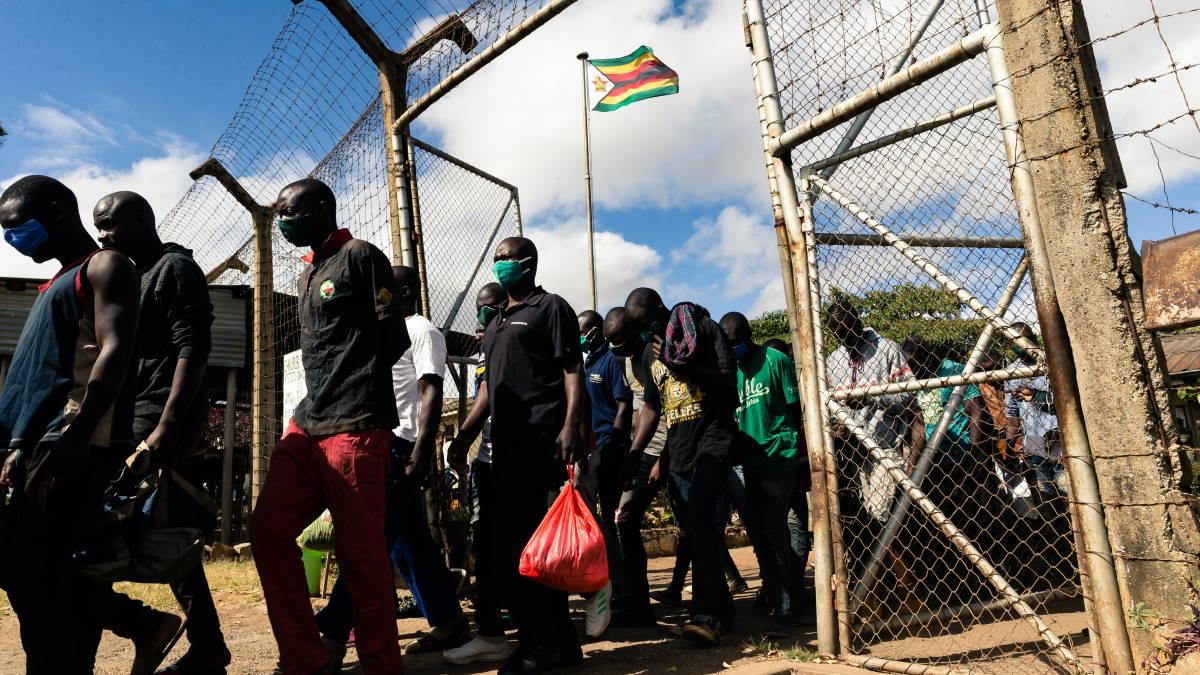 Зимбабве заключенные