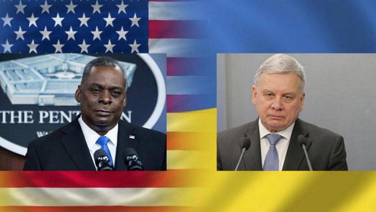 министры обороны сша и украины