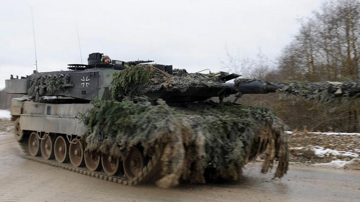 Основной боевой танк Leopard