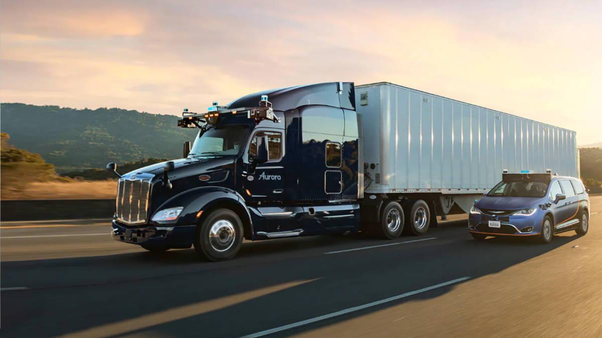 Беспилотный грузовик Aurora Innovation