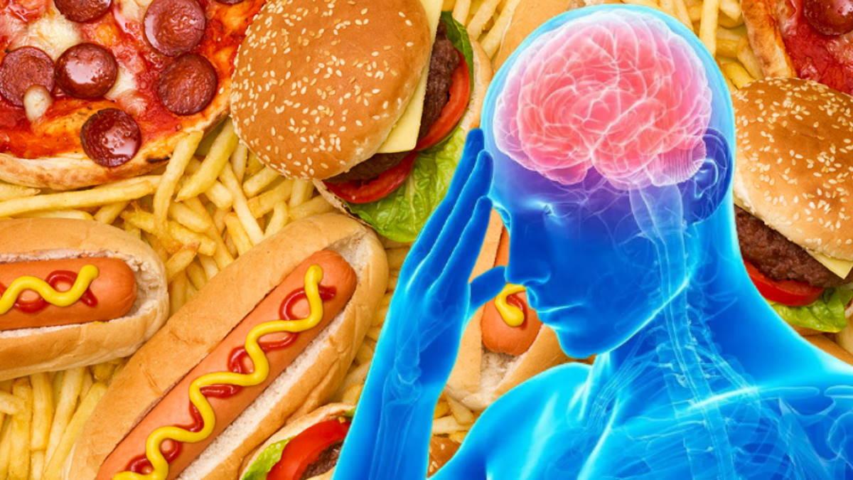 фастфуд вредная пища