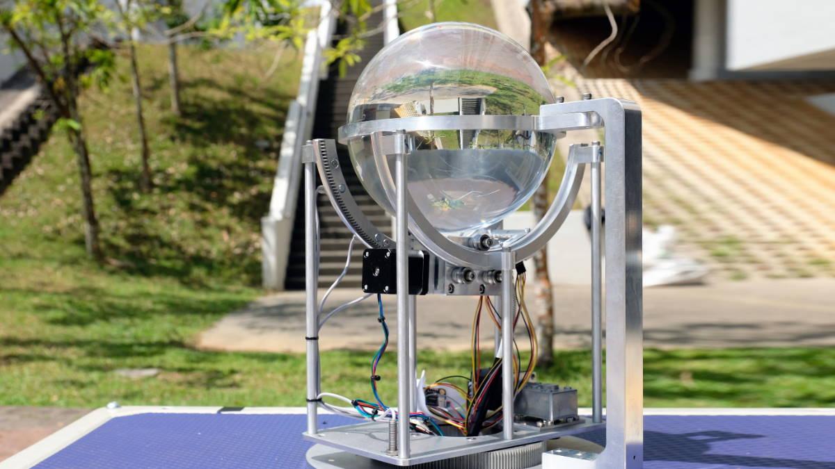 Устройство для доставки солнечного света под землю