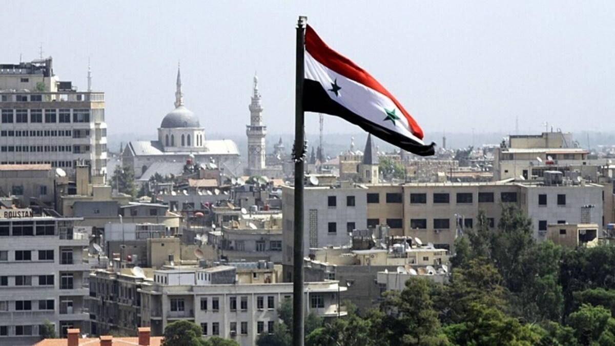 Сирия флаг город